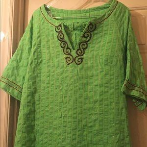 Tops - Green pant set